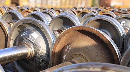 Progress Rail Services Corp.: Wheelsets, axles, journal bearings