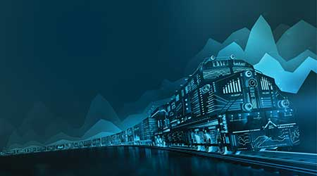 GE Transportation: On-board locomotive monitoring systems
