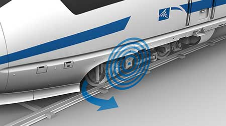 Schwab Vibration Control: HALL 2.0 active hydraulic guide bearing