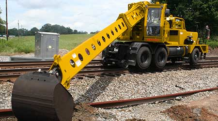 Gradall Industries, Inc.: Rail maintenance machines