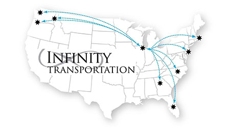Infinity Transportation Logistics: Expedited domestic intermodal service in Pacific Northwest