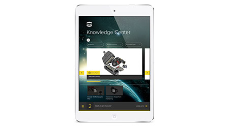 HARTING: Knowledge Center app