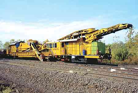 Rail Components Page Ballast Undercutters Cleaners
